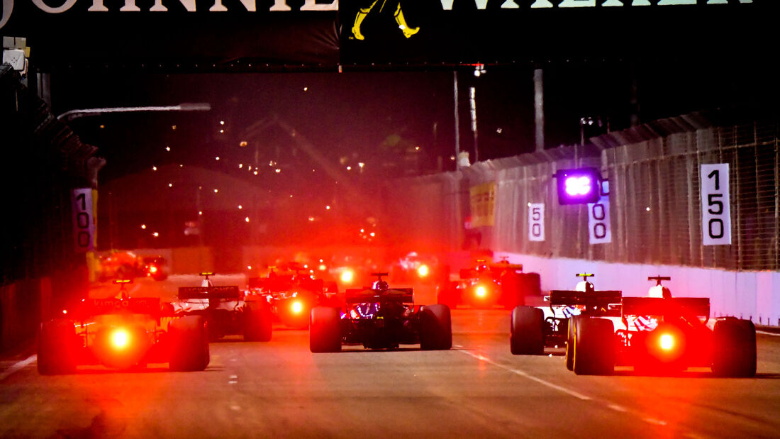Startrunde - GP Singapur 2018
