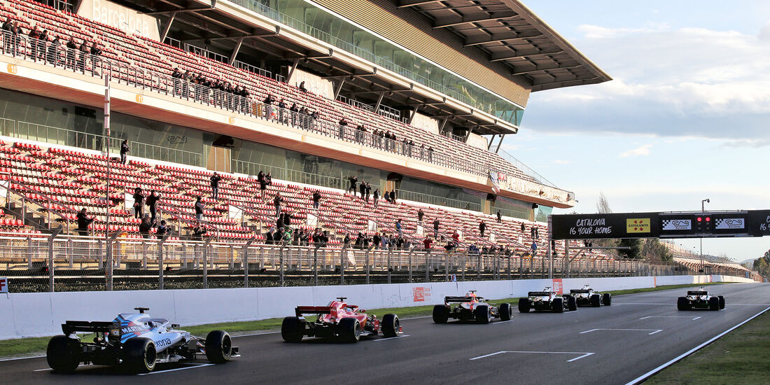 Startübung - F1-Test - Barcelona - Tag 5 - 6. März 2018