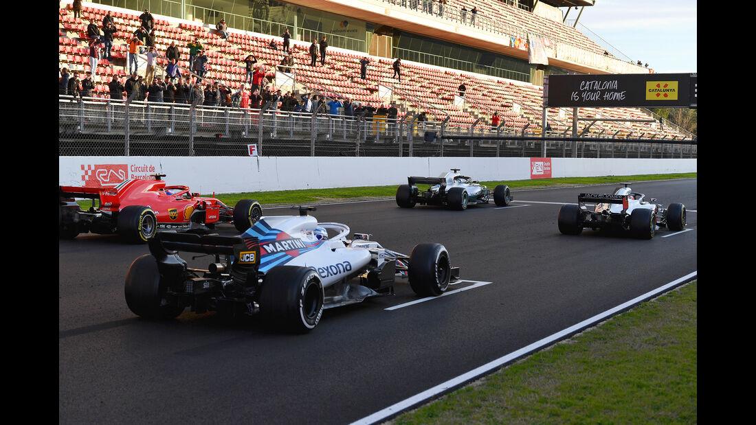Startübung - F1-Test - Barcelona - Tag 6 - 7. März 2018