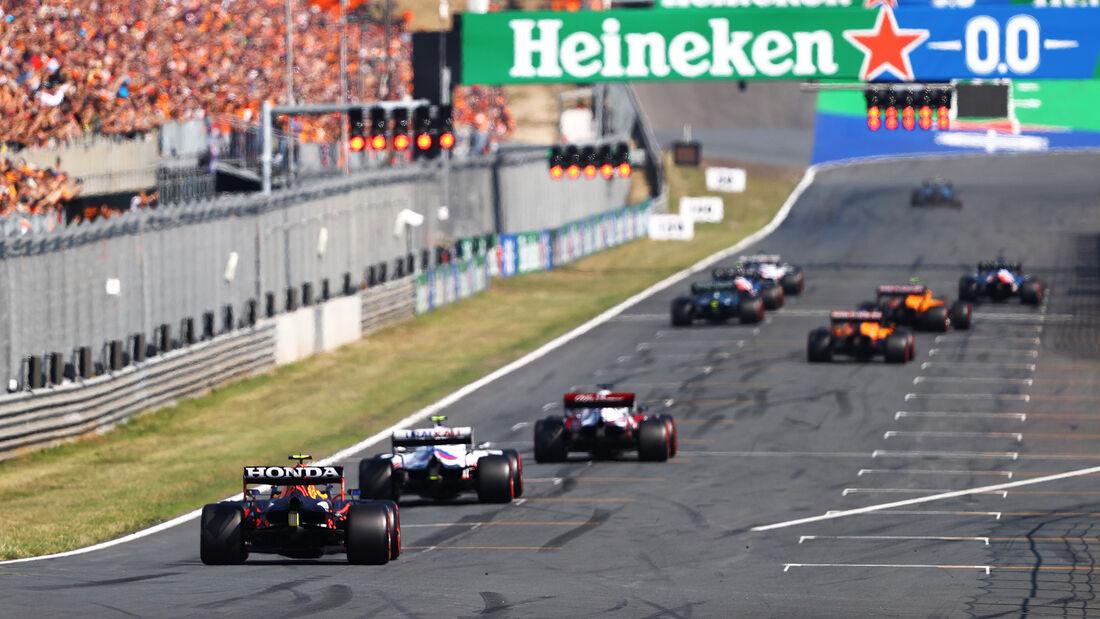 Startübung - GP Niederlande - Zandvoort - Formel 1 - 3. September 2021