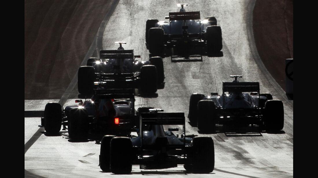 Startübung GP USA Austin 2012