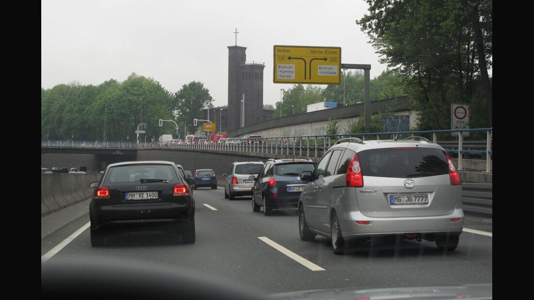 Stau Autobahn A40