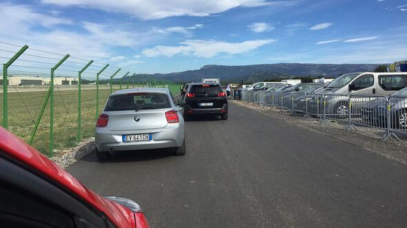 Stau - GP Frankreich 2018