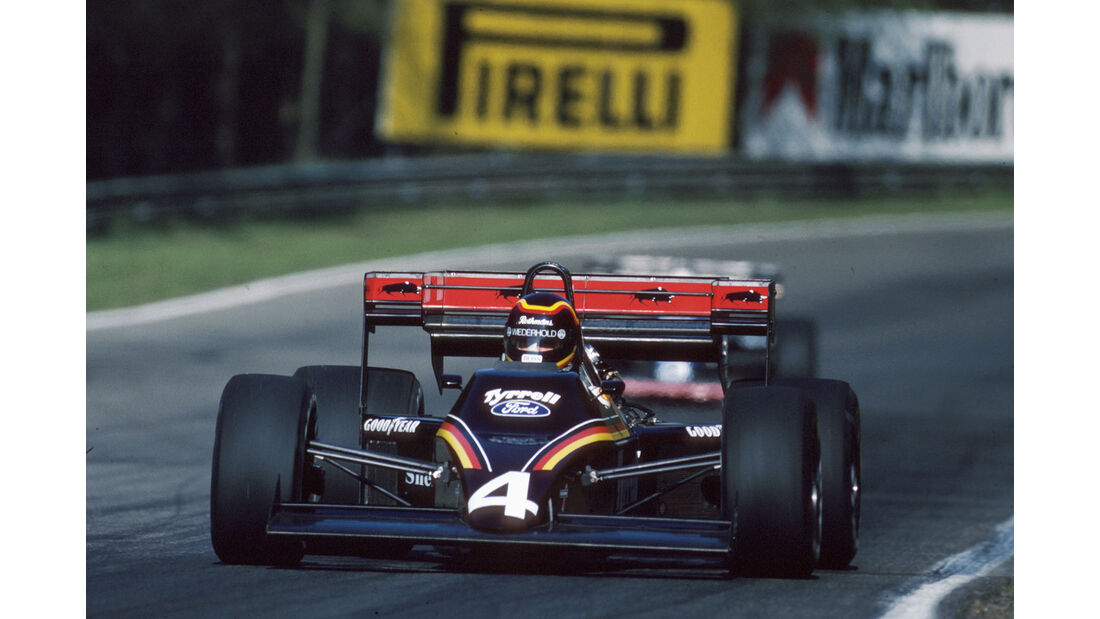 Stefan Bellof - 1984 - GP Belgien