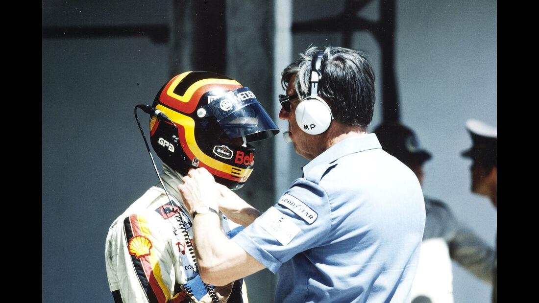 Stefan Bellof & Ken Tyrrell - 1984