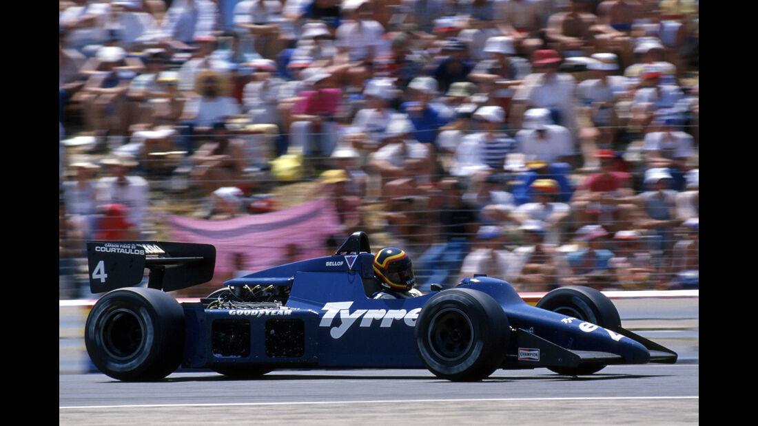 Stefan Bellof - Tyrrell - Formel 1 - GP Frankreich 1985