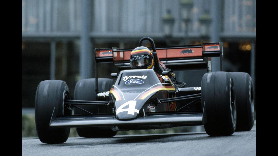 Stefan Bellof - Tyrrell - GP Monaco - 1984