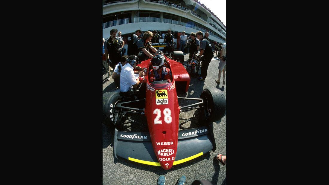 Stefan Johansson - Ferrari 156/85 - Paul Ricard 1985