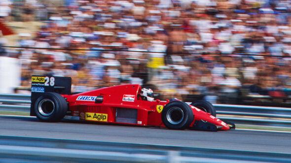 Stefan Johansson - Formel 1 - GP Ungarn 1986