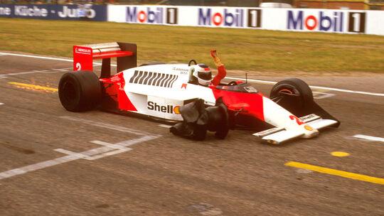 Stefan Johansson - GP Deutschland 1987