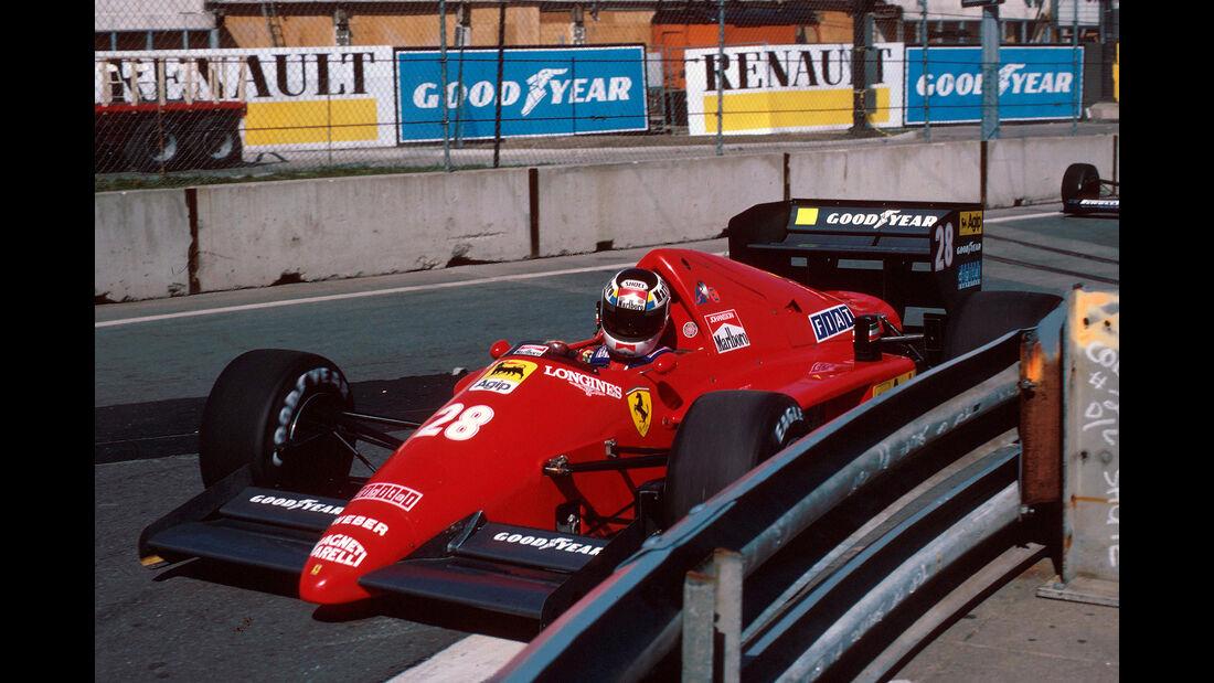 Stefan Johansson - GP USA 1986