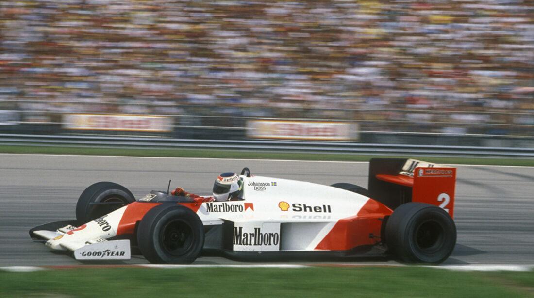 Stefan Johansson McLaren 1987