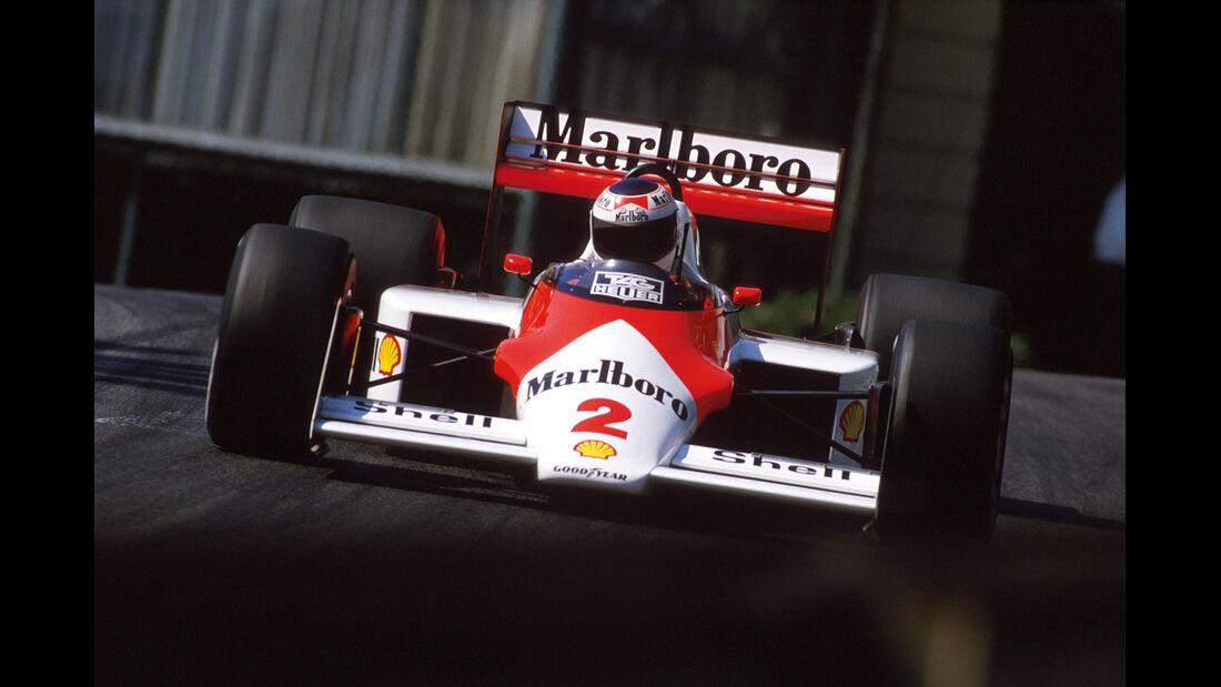 Stefan Johansson - McLaren - GP Monaco - 1987