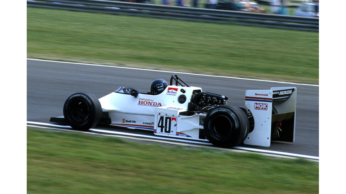 Stefan Johansson - Spirit-Honda 201C Turbo - Formel 1 - 1983