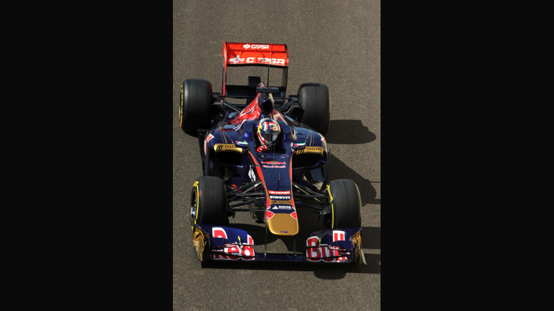 Stefano Coletti - Toro Rosso - Young Driver Test - Abu Dhabi - 17.11.2011