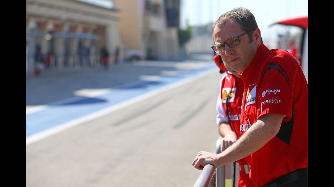 Stefano Domenicali - Ferrari - Formel 1 - Bahrain - Test - 2. März 2014