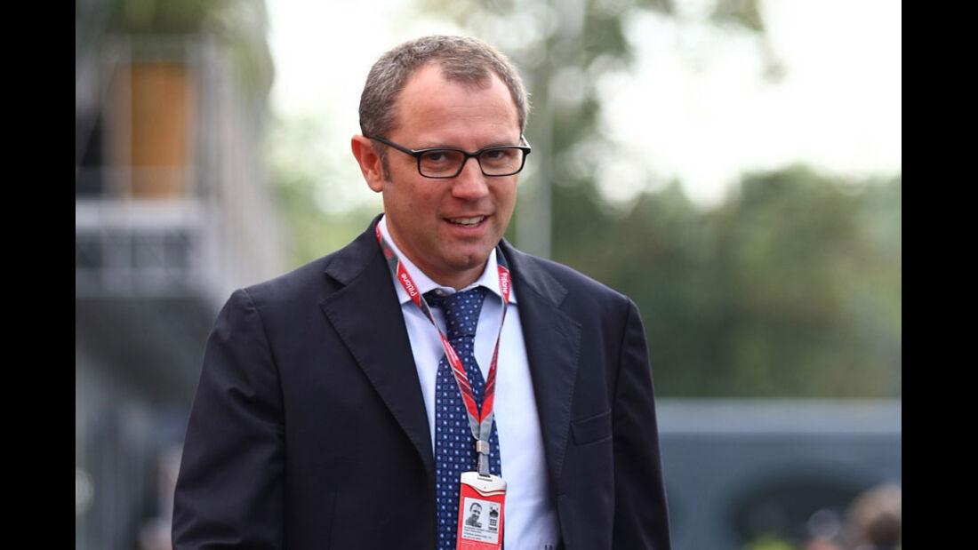 Stefano Domenicali GP Italien 2011