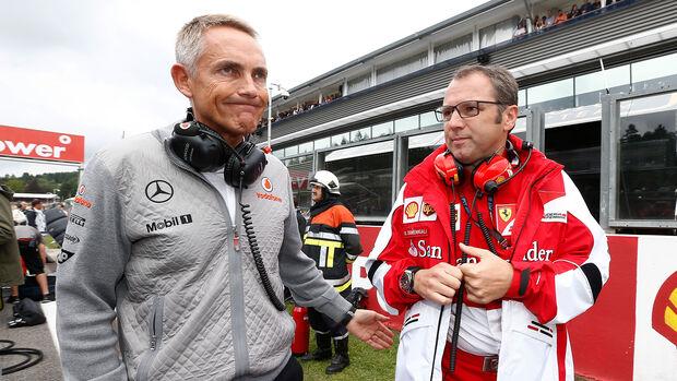 Stefano Domenicalo & Martin Whitmarsh - Formel 1 - 2013