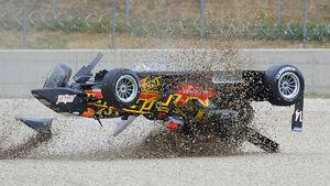 Stefanos Kamitsakis Formel 3 Crash 2009