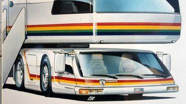Steinwinter Cab Under Skizze