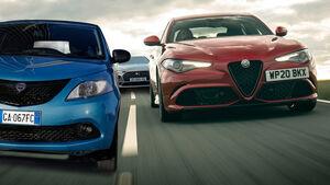 Stellantis Premium Marken Alfa Romeo Lancia DS