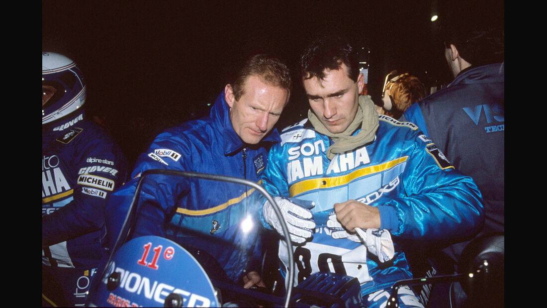 Stephane Peterhansel Jean-Claude Olivier Dakar