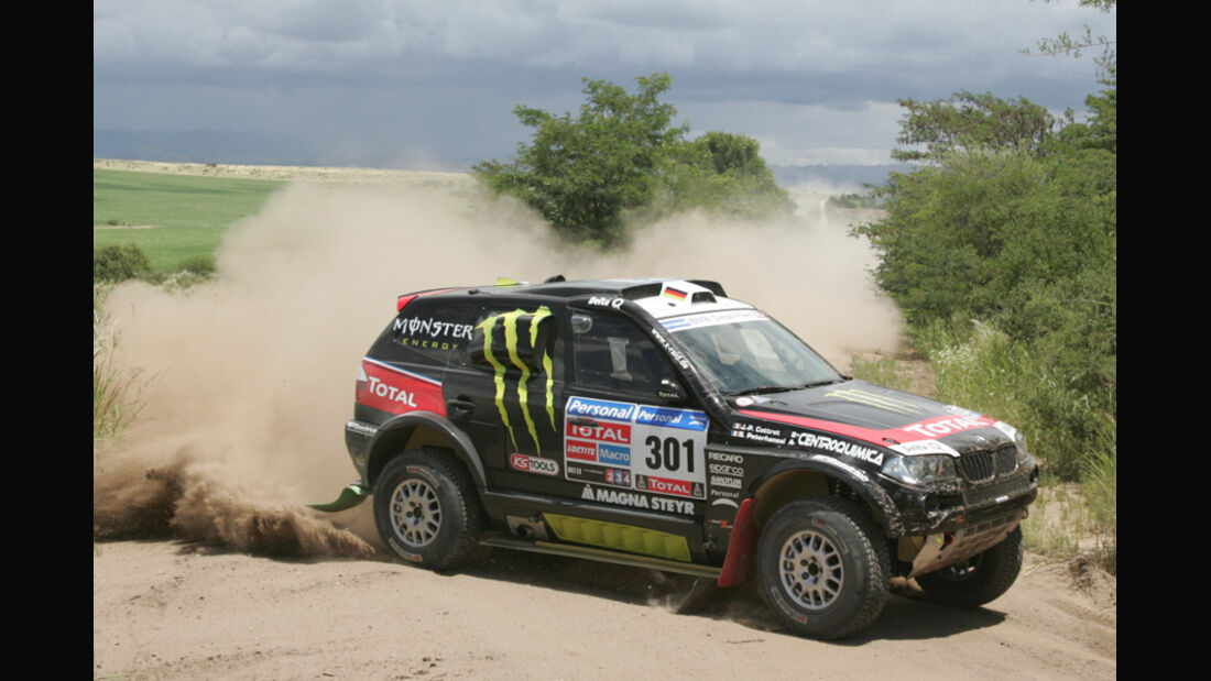 Stephane Peterthansel - Dakar 2011