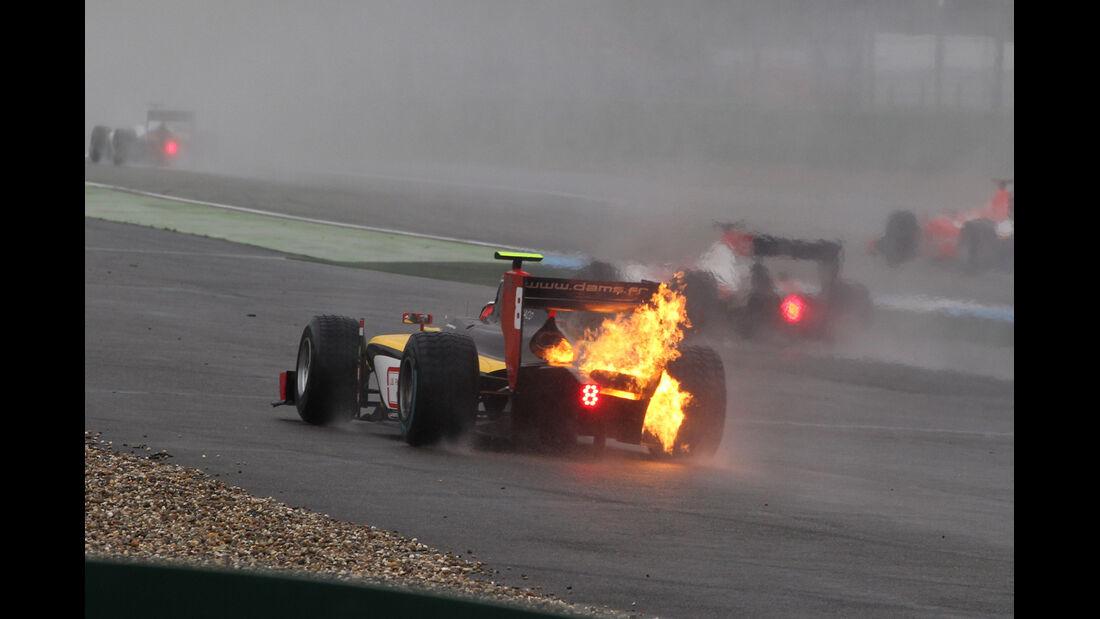 Stephane Richelmi - GP2 - Hockenheim - Crashs 2014