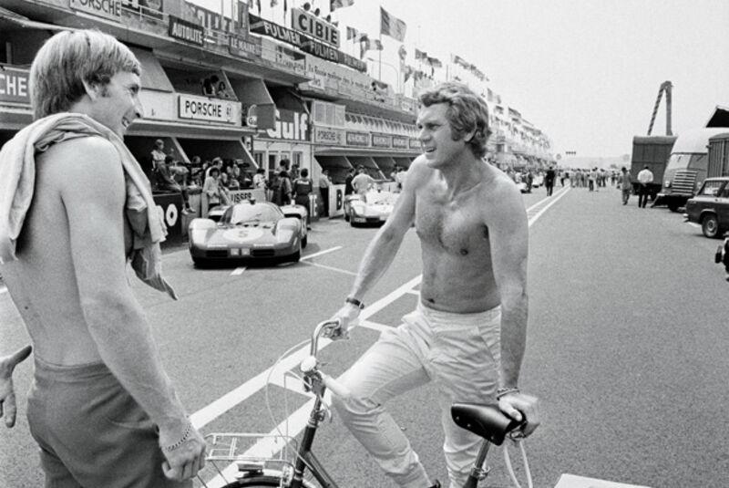 Steve Mc Queen, Derek Bell, Le Mans
