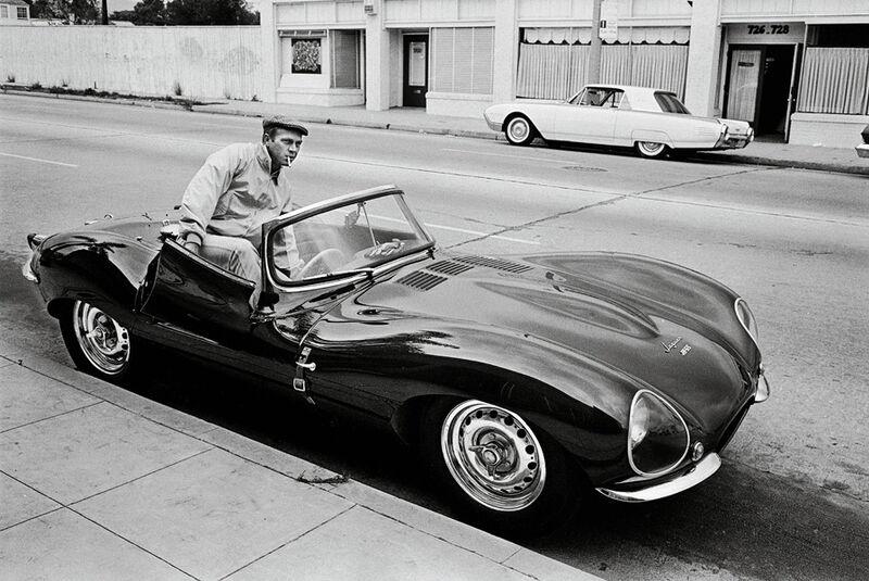 Steve Mc Queen, Jaguar XK SS