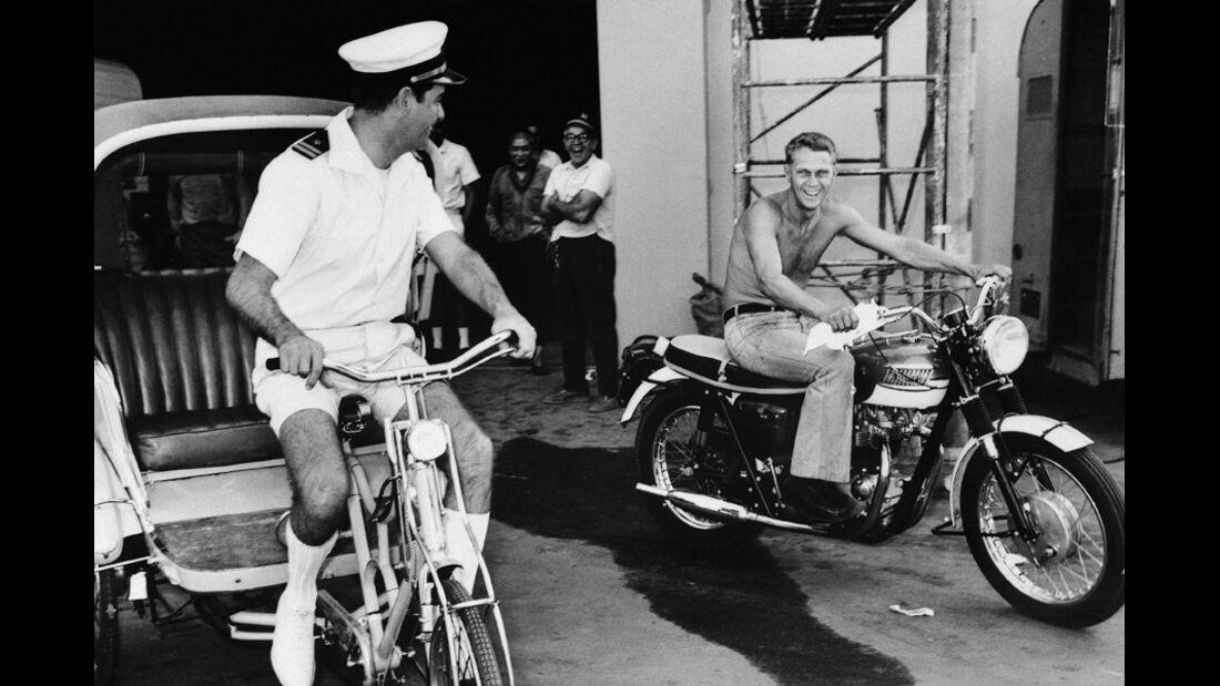 Steve Mc Queen, Motorrad