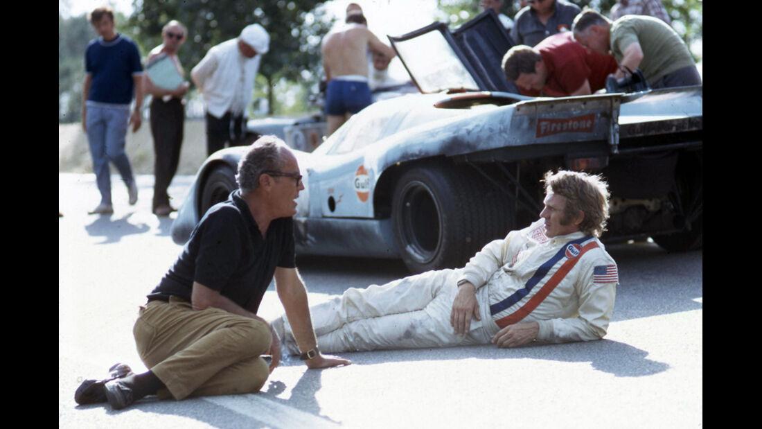 Steve Mc Queen, Rennanzug, Le Mans