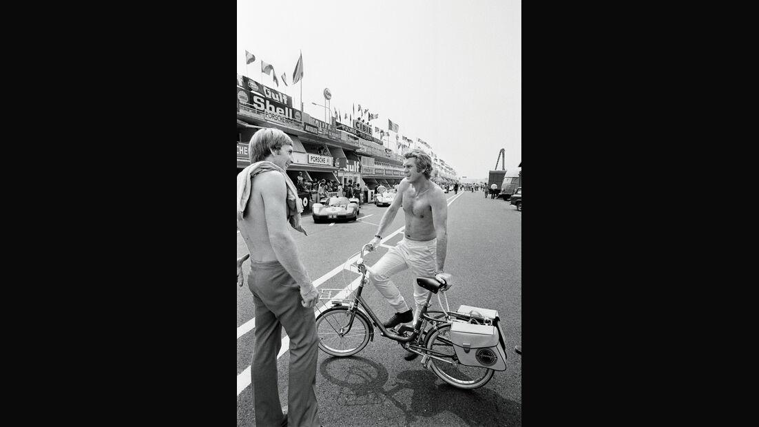 Steve McQueen, Fahrrad