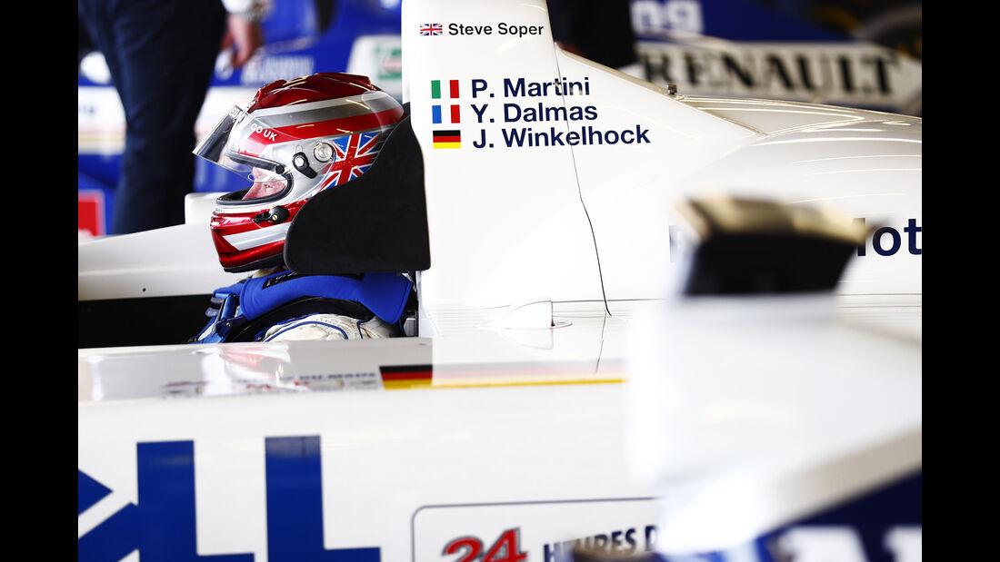 Steve Soper- BMW V12 LMR - Williams-Jubiläum - Silverstone - 2017