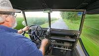 Steyr Puch Haflinger, Malte Jürgens, Cockpit