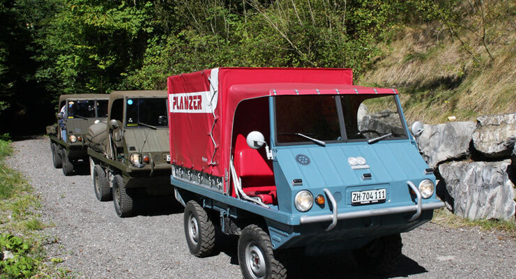 Steyr-Puch Haflinger Tour