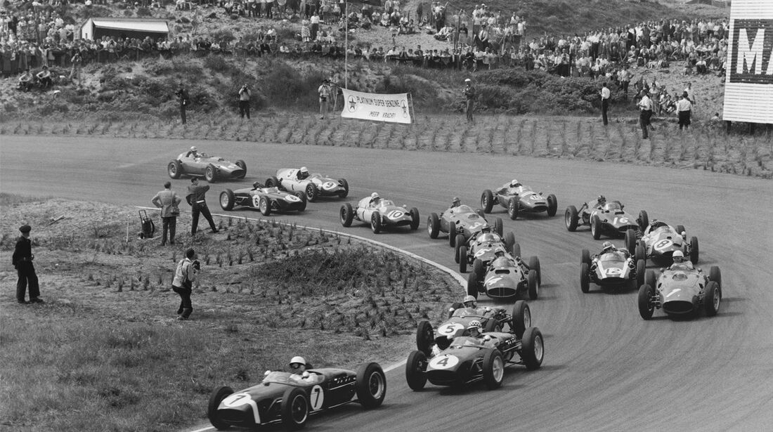 Stirling Moss - Innes Ireland - Lotus 18 - GP Niederlande 1960 - Zandvoort