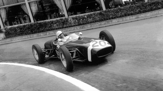 Stirling Moss - Lotus 18 Climax - GP Monaco 1961