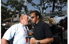 Stirling Moss mit Lewis Hamilton