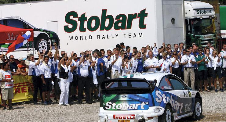 Stobart VK M-Sport Ford Rally Team 2008