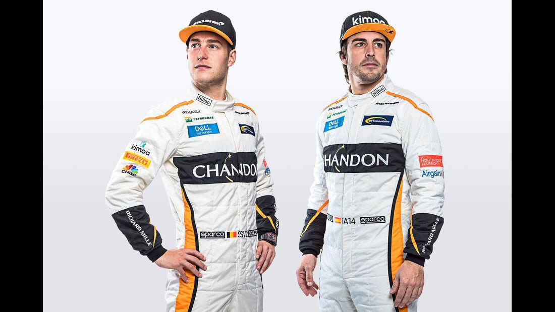 Stoffel Vandoorne & Fernando Alonso - McLaren - F1 - 2018