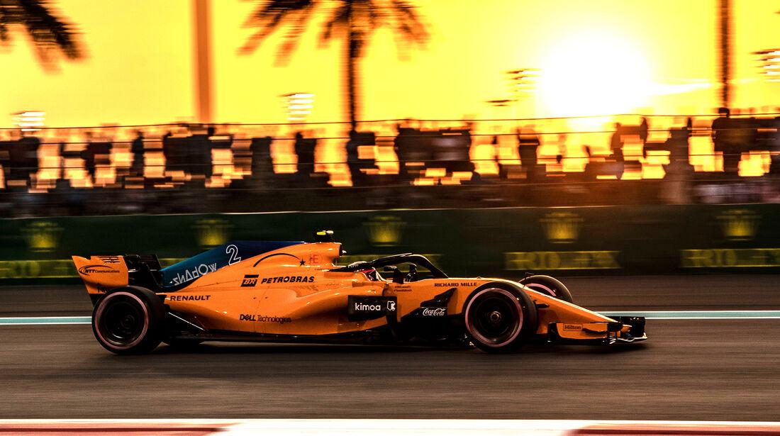 Stoffel Vandoorne - Formel 1 - GP Abu Dhabi 2018