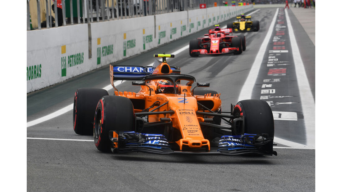 Stoffel Vandoorne - Formel 1 - GP Brasilien 2018