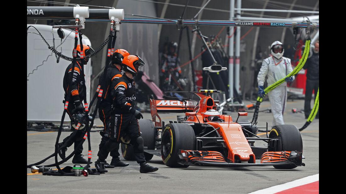 Stoffel Vandoorne - Formel 1 - GP China 2017