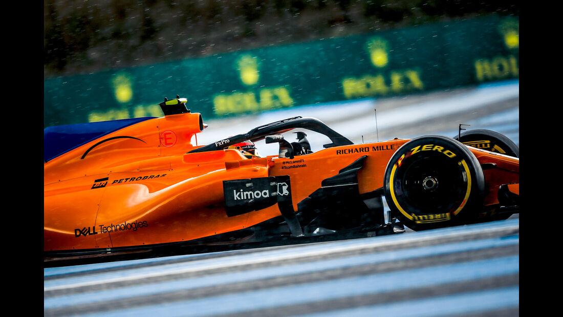 Stoffel Vandoorne - Formel 1 - GP Frankreich 2018