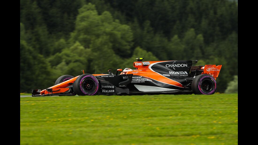 Stoffel Vandoorne - Formel 1 - GP Österreich 2017