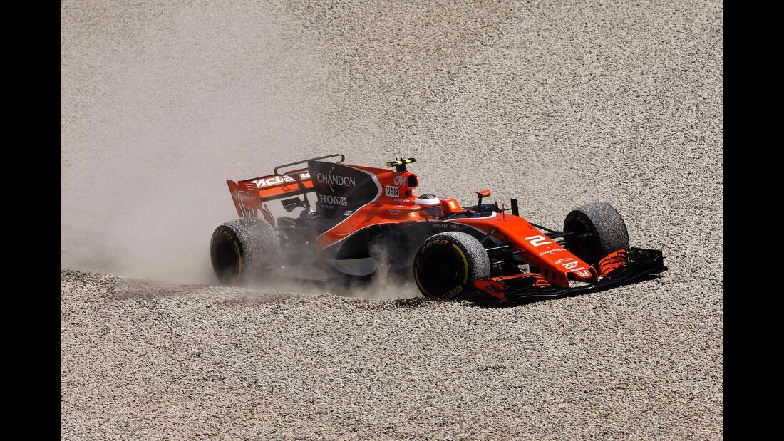 Stoffel Vandoorne - Formel 1 - GP Spanien - 14. Mai 2017