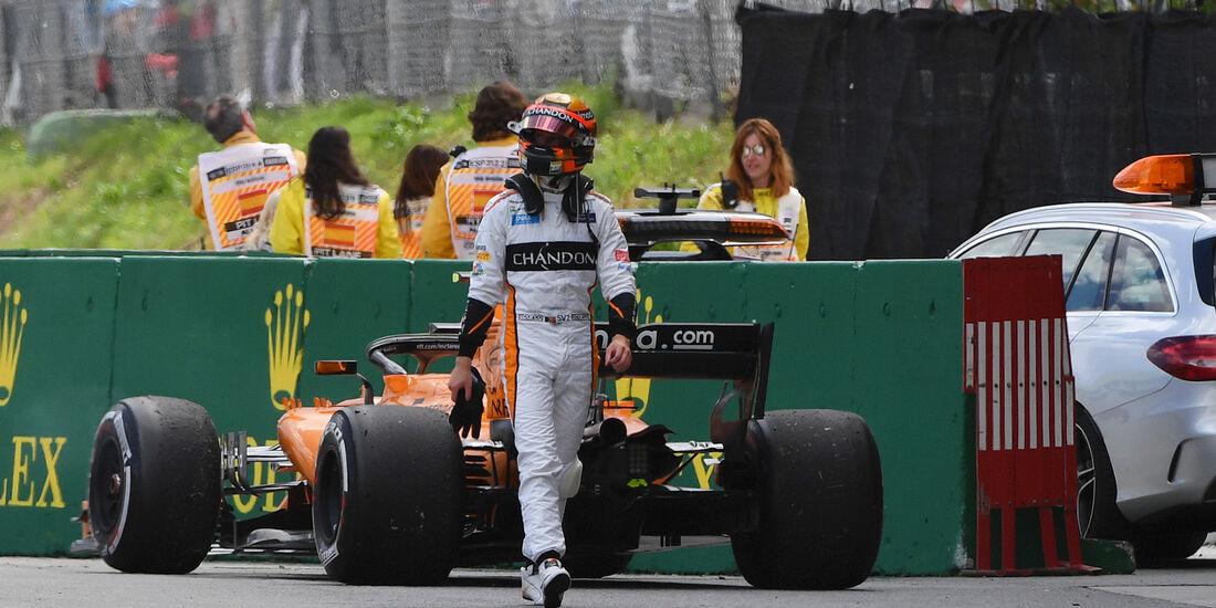 Stoffel Vandoorne - Formel 1 - GP Spanien 2018