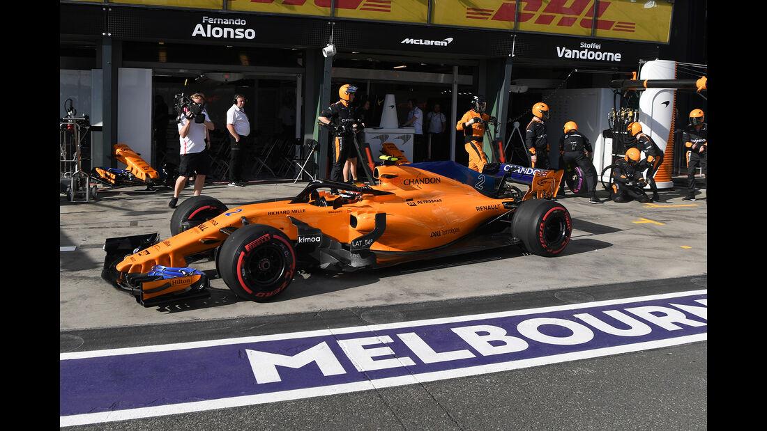 Stoffel Vandoorne - GP Australien 2018