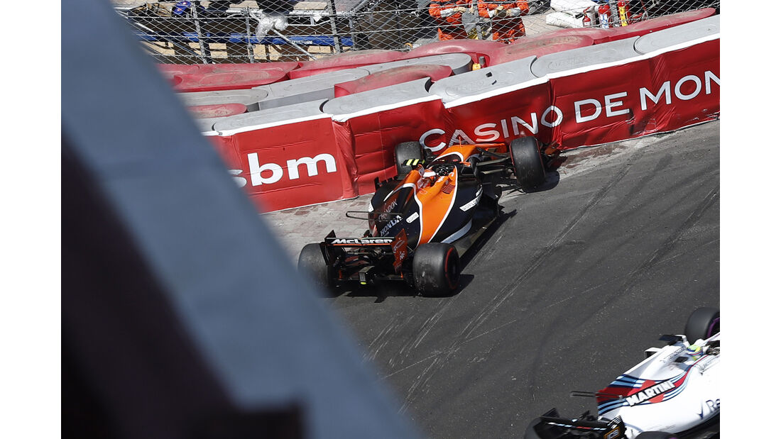 Stoffel Vandoorne - GP Monaco 2017